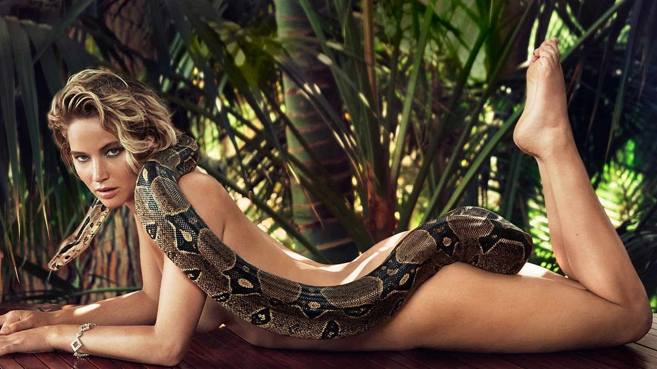 Nude women and snakes pictures