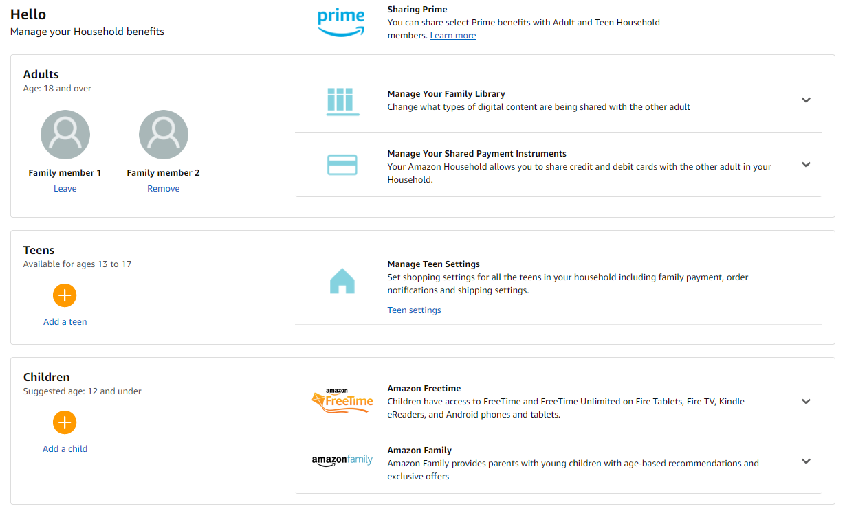 Amazon pay with multiple cards