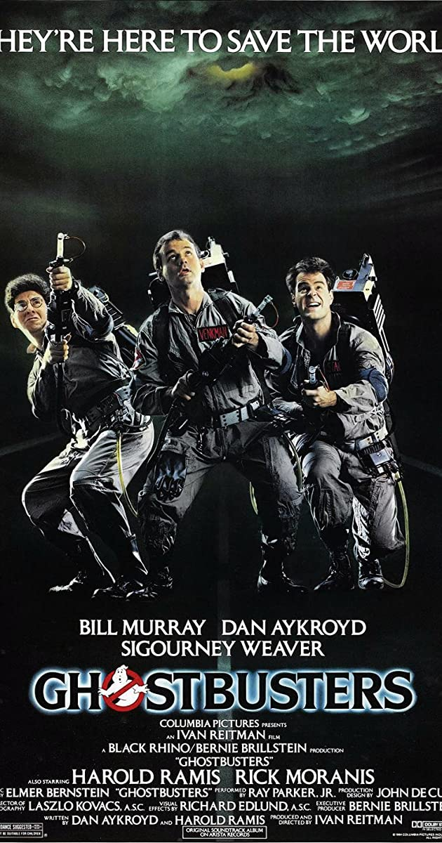 Ghostbusters soundtrack 1984