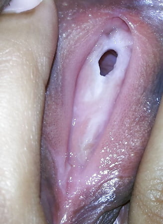 Close up of pussy hymen