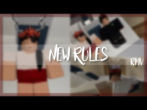 Roblox music video new rules