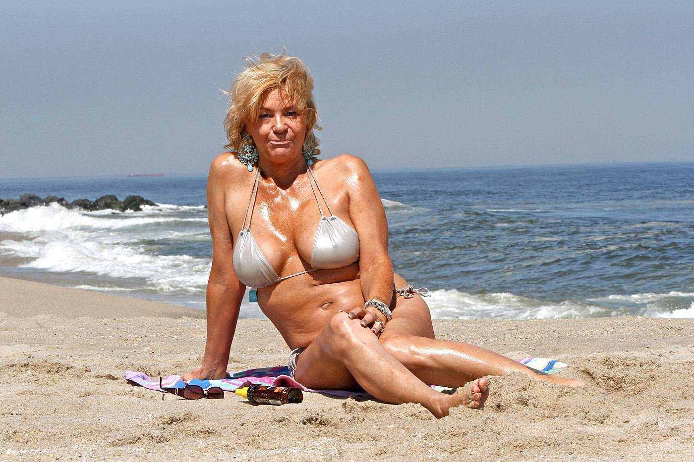 Naked moms on vacation