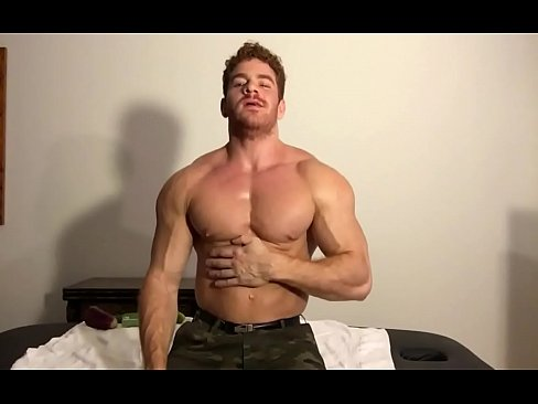 Gay dildo muscle