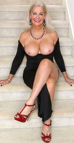 Only naked mature women