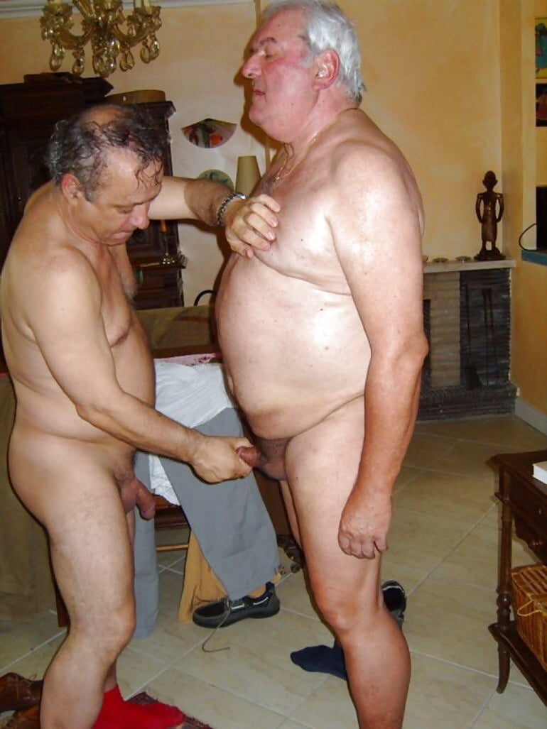 Semi naked pic of fat men and women