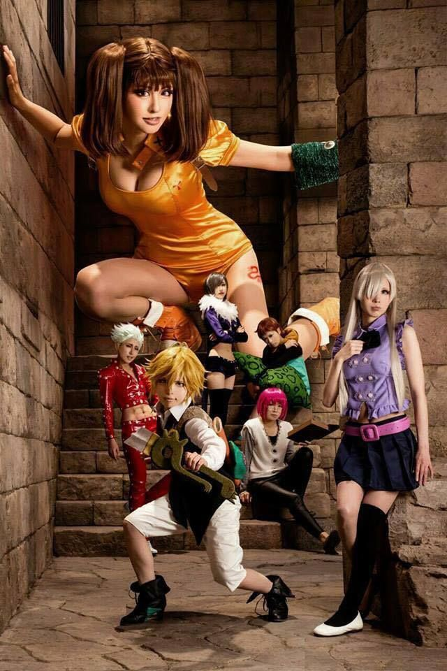 The seven deadly sins rule 34