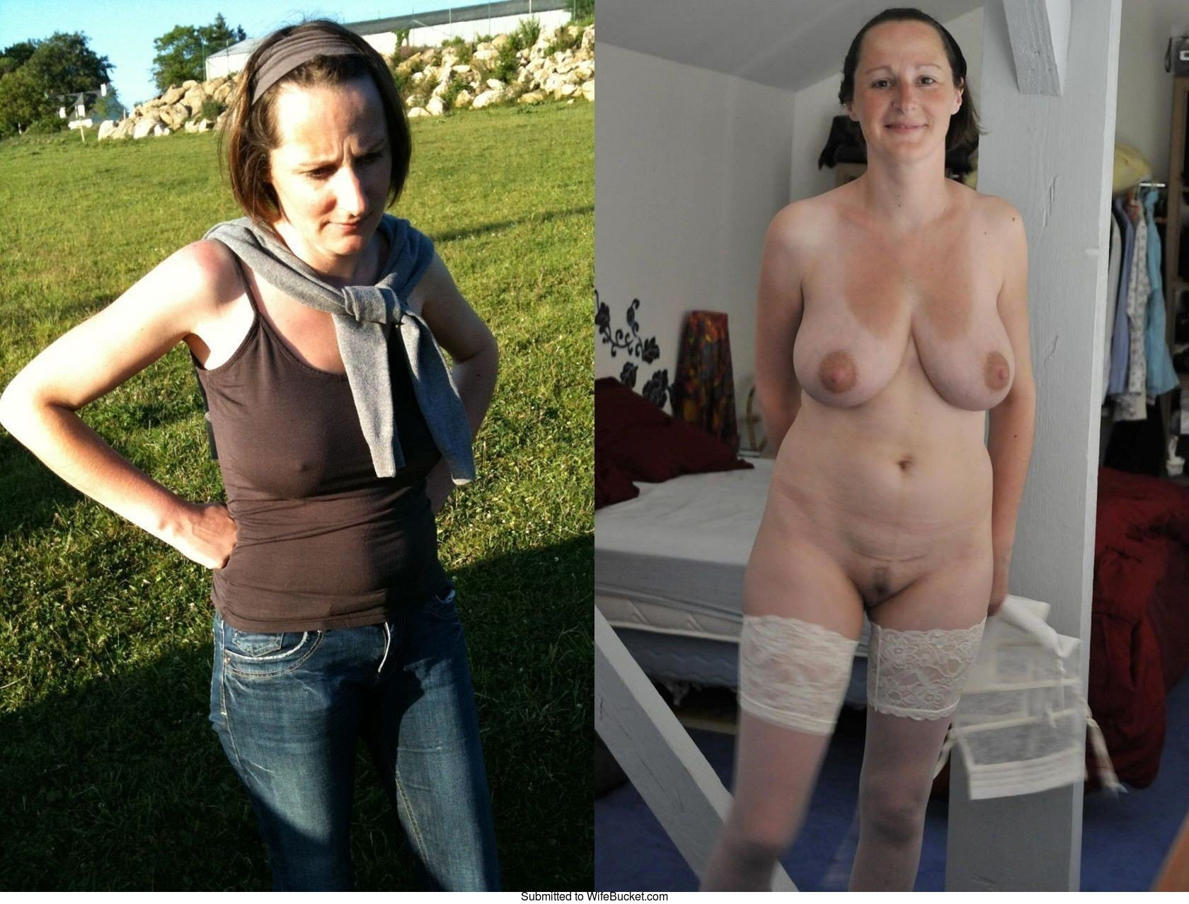 Wifebucket before and after nude